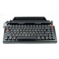 qwerkywriter 复古打字机蓝牙键盘带返回杆英语布局 qwerkeywriter1