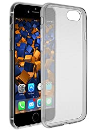 mumbi 超薄手机套适用于 iPhone 8 / iPhone 7保护套黑色透明 (超薄 – 0.55毫米)