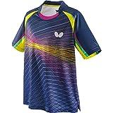 蝴蝶(Butterfly) 乒乓球 比赛用 半袖比赛装 优雅 衬衫 男女通用 45430