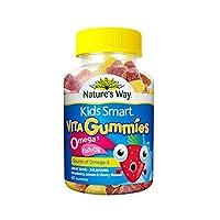(跨境自营)(包税) Kids Smart 佳思敏 儿童鱼油软糖 (适合2岁以上儿童)60粒(澳洲品牌 保税区发货)