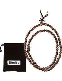 woodies 胡桃木串珠项链