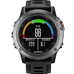 【年货好礼】GARMIN 佳明 fenix3 炫黑版中文单机版 多功能户外GPS运动跑步手表 官方标配(顺丰包邮)