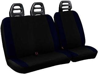 Lupex Shop Transporter C.b N. Bs 座套适用于运输机 3 座,棉,双色黑色/深蓝色,皮带慢