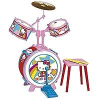REIG Hello Kitty 带凳子鼓套装(3 件)