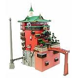 sankei 折纸模型套件 千与千寻 油屋 1/150规模纸模型 MK07-10 吉卜力工作室
