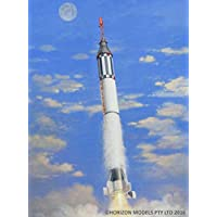 HORYZON 模型 1/72 美国*载人宇宙火箭Marcry・红石 塑料模型套件 HM2004