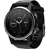 Garmin Fenix 5S - Silver with Black Band
