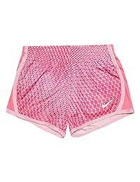 Nike 耐克女童速干短裙 粉色/白色 6