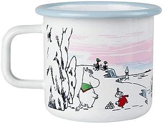 MUURLA Moomin 搪瓷冬季时间马克杯 3.7 dl