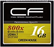 GREEN HOUSE CF卡 UDMA7适用 高速系数3年保修GH-CF16GZ  16GB