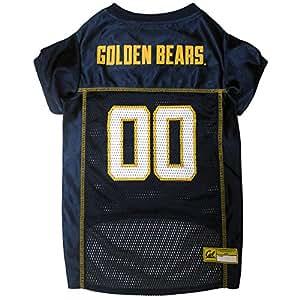 Pets First Collegiate California Golden Bears Berkeley Dog Mesh Jersey Value not found 中