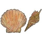 Sizzix Tim Holtz Bigz 压模带纹理褪色文件夹 - Seashells