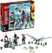 LEGO 70678 NINJAGO Forsaken 帝王套装与冰龙玩具,Spinjitzu 大师玩具套装