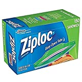 Ziploc 三明治袋(150袋x 2 = 300袋),透明