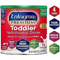 Enfagrow 美赞臣  3段 非转基因 幼儿配方奶粉 Omega 3 DHA 香草味 罐装 24盎司/680克(4 罐装)