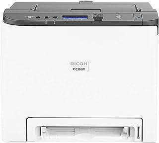 Ricoh 理光 408335 PC301W 彩色激光打印机 A4,WLAN,LAN,颜色