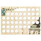 原创出席卡 钢琴和窗户 【支持40次课程+备用4次】 10张装 PRFG-052