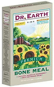 Dr 地球718 BONE 餐有机 fertilizer ,3 – 15 – 0,24 BOX 多色 2.5 lb
