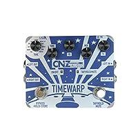CNZ Audio Time Warp - 多延迟吉他效果踏板,双输入和输出
