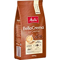 Melitta 咖啡全豆 纯阿拉比卡咖啡豆,浓郁平衡,强度3,BellaCrema LaCrema,1kg