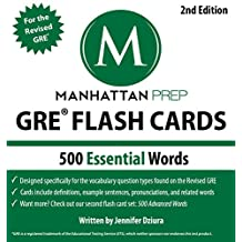 500 Essential Words: GRE Vocabulary Flash Cards (Manhattan Prep GRE Strategy Guides) (English Edition)