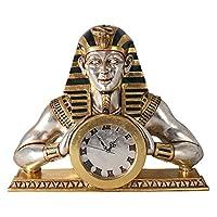 Design Toscano NE25362 Temple of Heliopolis Egyptian Mantle Clock Statue