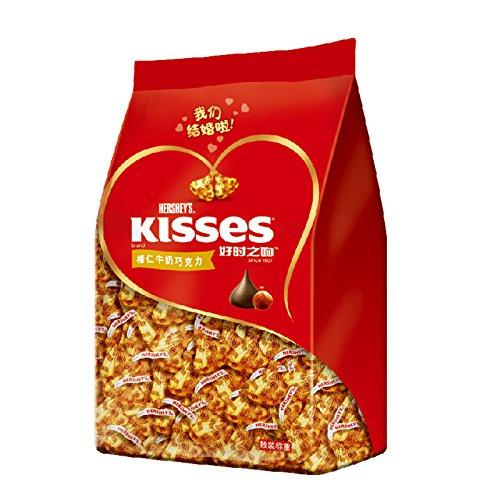 HERSHEY'S 好时 KISSES 榛仁牛奶巧克力500g