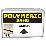 Polymeric Sand – 黑色 18磅(约 453.6 千克)关节稳定沙 适用于爪子