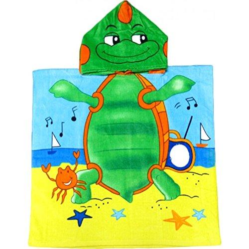 儿童乌龟连帽斗篷毛巾