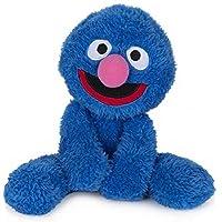 GUND 芝麻街毛绒玩具伙伴格罗弗毛绒填充动物,蓝色