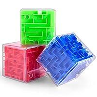 Ceebitoo 3D立体旋转迷宫魔方 小孩儿童益智玩具智力球 走珠玩具智力魔方成人解压智力游戏 儿童玩具礼品礼物