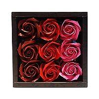 九州花朵服务花卉谷物泡澡剂 玫瑰香水9轮装 玫瑰R 753190