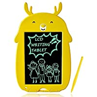 LCD 书写平板 黄鹿 涂鸦板 绘图板 儿童玩具 3-6 岁男孩女孩*生日礼物 磁性涂鸦板好 留言板