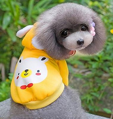 smalllee _ 幸运 _ store 软棉质可爱无袖上衣 黄色 大