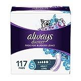 Always discreet 尿*卫生巾(包装可能不同) 长度/* 117 Count 117