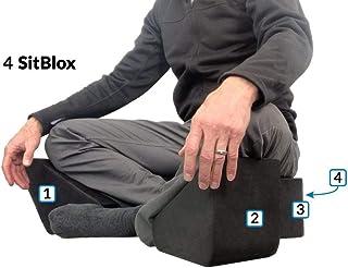 Ungloo SitBlox - 冥想、瑜伽、腿、膝盖、臀部、支撑、楔形、块