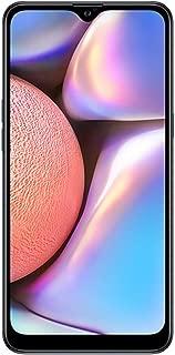 "Samsung Galaxy A10s(32GB、2GB RAM)6.2"" HD+ Infinity-V 显示屏,13MP+2MP 双后摄像头+8MP 前置摄像头 - 4G LTE 双 SIM GSM 工厂未锁 A107M/DS(缎面规格)A10 32GB + 64GB SD Bundle 黑色"