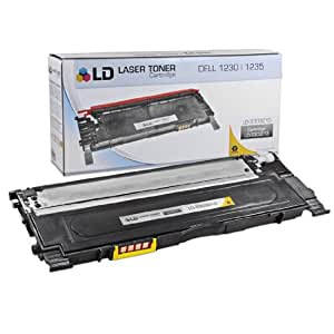 LD Compatible Replacement for Dell 330-3013 Yellow Laser Toner Cartridge for use in Dell Color Laser 1230c, 1235c, and 1235cn Printers