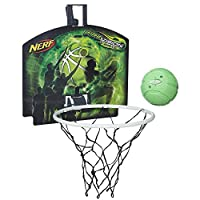 Hasbro 孩之宝nerf拉尔弗视觉点燃投篮套装6岁以上儿童篮球