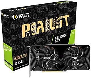 Palit GeForce GTX 1660 SUPER GamingPro 6 GB GDDR6 显卡,DisplayPort,HDMI,双链接 DVI-D