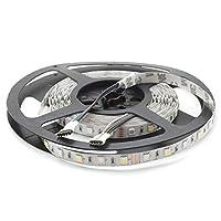LED RGBW 暖白(3000K)条纹 12V,500厘米,60 个LED/m (300 个) ),IP20