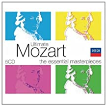 进口CD:莫扎特终极精选(5CD)(4758052)