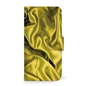 MITAS 智能手机保护壳翻盖型布面料印花  黄色 11_ALCATELONETOUCH (IDOL36045F)