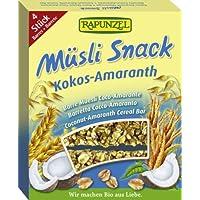 Rapunzel Müsli Snack Kokos-Amaranth, 7er Pack (7 x 116 g) - Bio