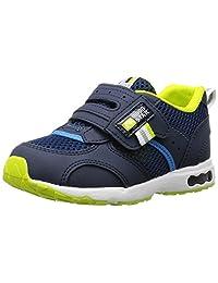 [Carrot] 运动鞋 上学用鞋 4大功能 魔术范围 宽幅 3E 儿童 CR C2146 藏青色 14.0 cm 3E