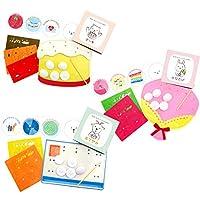 家人一起制作吧!《玩耍蛋糕》 相框套装 3种套装(蛋糕、花束、信纸)