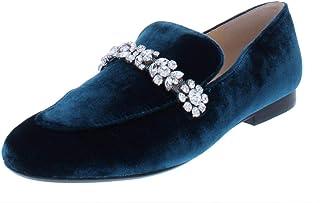 Ivanka Trump 女士 Wareen 2 天鹅绒装饰时尚乐福鞋