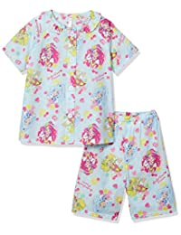 Bandai 睡衣套装 HERIPLING 勇士 光之美少女 浅灰蓝色 日本 110 (日本サイズ110 相当) 43990