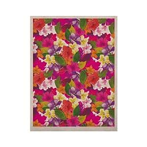 Kess InHouse Pink Bloom Kess 天然帆布艺术 Aimee St. Hill 创作,50.8 x 60.96 厘米