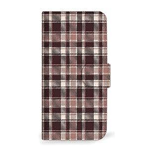mitas iphone ケース849SC-0004-BR/204HW 37_あんしんファミリーケータイ (204HW) 棕色